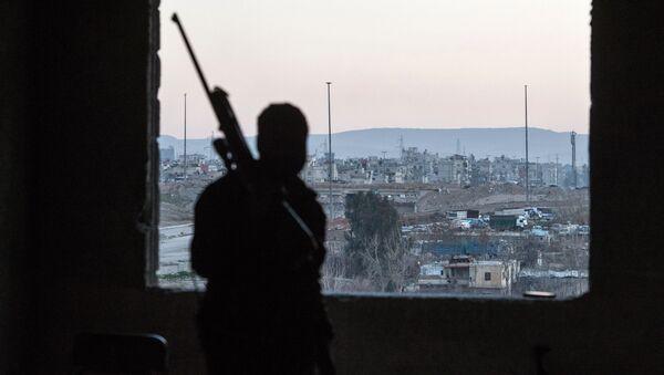 Dżobar pod Damaszkiem kontrolowany przez organizację terrorystyczną Dżabhat an-Nusra - Sputnik Polska