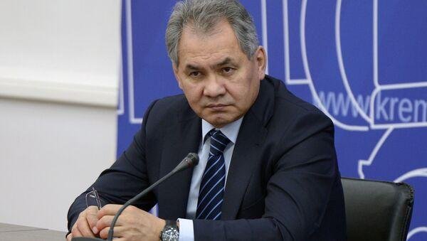 Minister obrony Rosji Sergiej Szojgu - Sputnik Polska