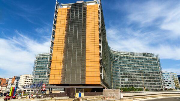 Budynek Komisji Europejskiej w Brukseli - Sputnik Polska