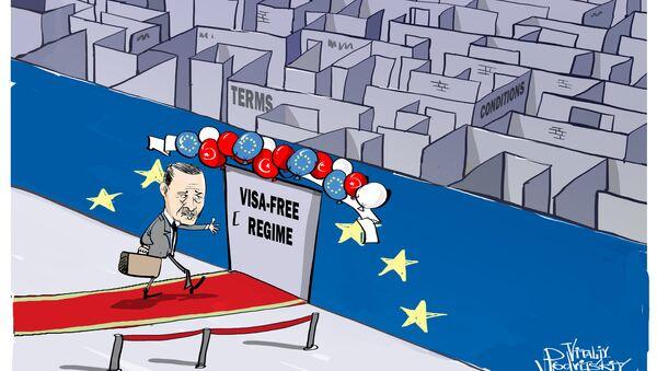 Erdogan bez wizy do Europy? - Sputnik Polska