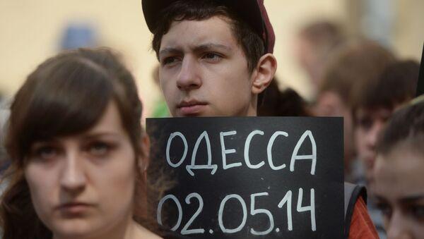 Rocznica tragicznych wydarzeń z 2 maja 2014 roku w Odessie - Sputnik Polska