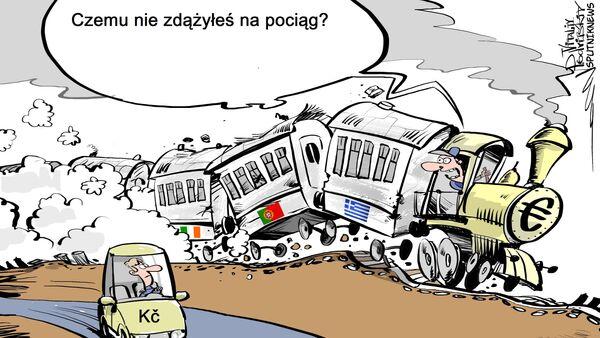 Czesi przeciwni przyjęciu euro - Sputnik Polska