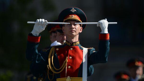 Próba generalna parady z okazji 9 maja z Placu Czerwonego - Sputnik Polska