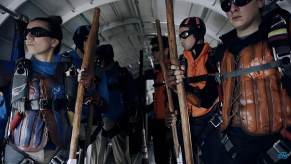 Quidditch na wysokości 4 km nad ziemią - Sputnik Polska