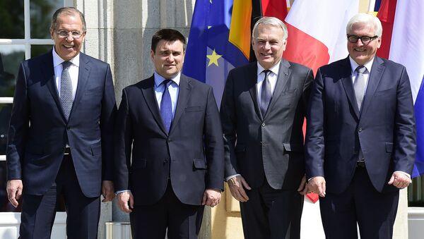 Spotkanie szefów MSZ normandzkiej czwórki w Berlinie - Sputnik Polska