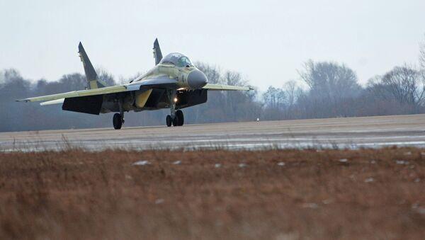 Dwumiejscowy myśliwiec okrętowy MiG-29KUB - Sputnik Polska