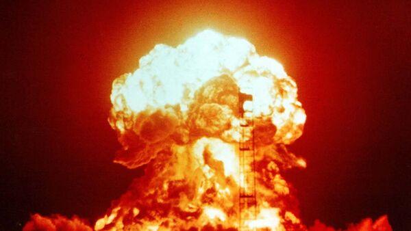 Wybuch bomby atomowej - Sputnik Polska