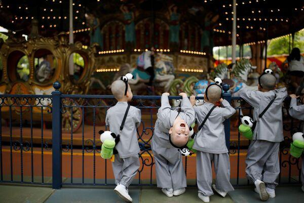 Park rozrywki Everland w Korei Południowej - Sputnik Polska