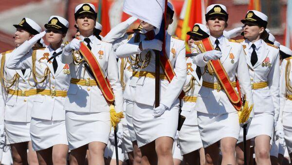 Parada z okazji Dnia Zwycięstwa w Moskwie - Sputnik Polska