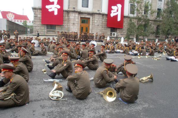 Parada z okazji zjazdu Partii w Korei Północnej - Sputnik Polska