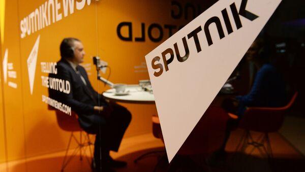 Studio radia Sputnik na XIX Petersburskim Międzynarodowym Forum Ekonomicznym - Sputnik Polska