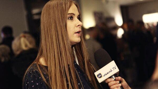 Dyrektor festiwalu filmów rosyjskich Sputnik nad Polską i Wisła w Rosji Małgorzata Skulska - Sputnik Polska
