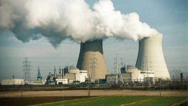 Widok na elektrownię atomową w Belgii - Sputnik Polska