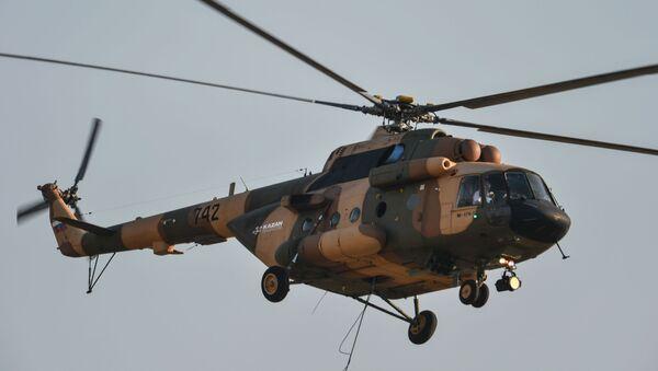 Śmigłowiec Mi-17B-5 - Sputnik Polska