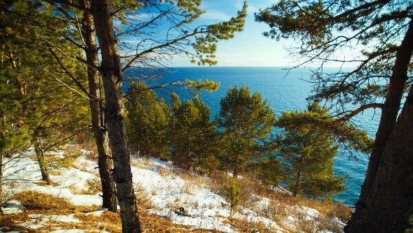 Jezioro Bajkał, Rosja - Sputnik Polska