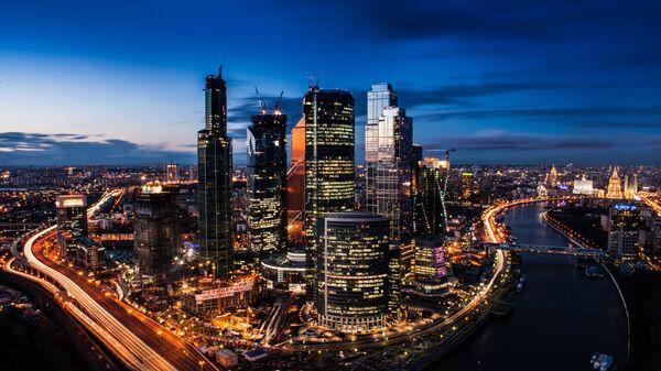 Moskiewskie międzynarodowe centum biznesowe Moscow City - Sputnik Polska