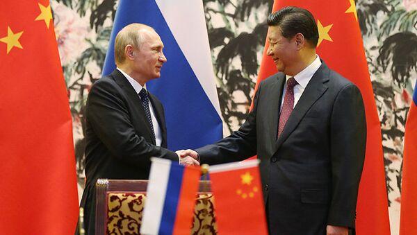 Azja-Pacyfik: Putin dokonuje wyboru pomiędzy chińskimi i amerykańskimi inicjatywami - Sputnik Polska