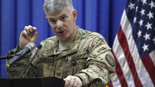 Rzecznik dowództwa USA na Bliskim Wschodzie pułkownik Steve Warren - Sputnik Polska