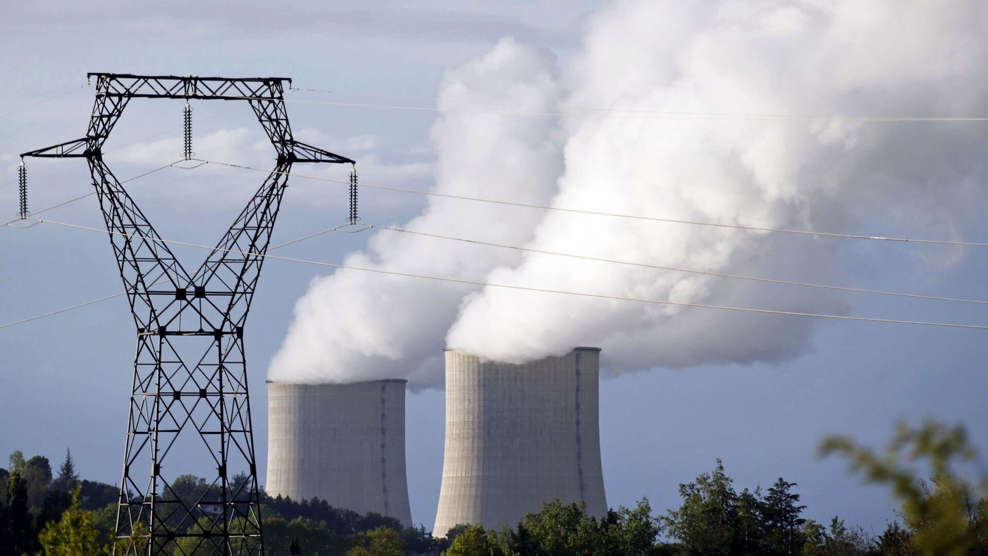 Elektrownia atomowa we Francji - Sputnik Polska, 1920, 08.03.2021