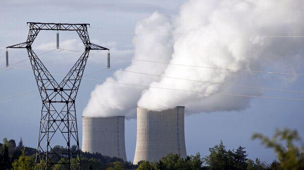 Elektrownia atomowa we Francji - Sputnik Polska