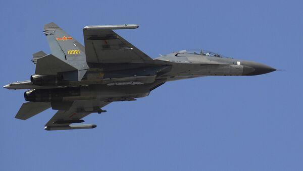 Chiński wielozadaniowy niszczyciel Shenyang J-11 - Sputnik Polska