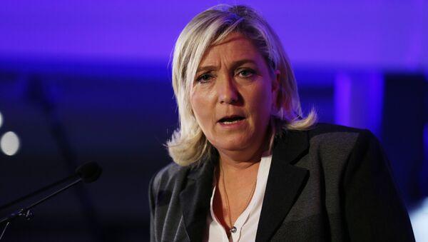 Przewodnicząca Frontu Narodowego Marine Le Pen - Sputnik Polska