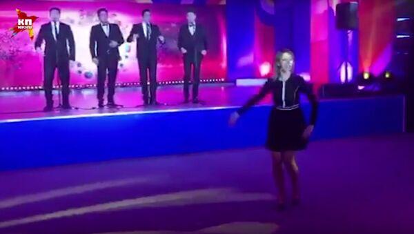 Rzeczniczka rosyjskiego MSZ tańczy Kalinkę w Soczi - Sputnik Polska
