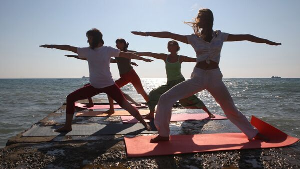 Yoga-Zentrum Tuapse, Russland - Sputnik Polska