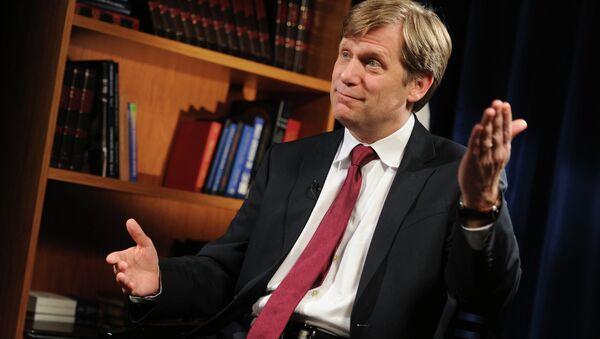 Były ambasador Stanów Zjednoczonych w Rosji Michael McFaul - Sputnik Polska
