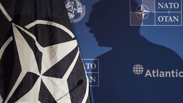 Sekretarz Generalny NATO Jens Stoltenberg w czasie wystąpienia w Waszyngtonie - Sputnik Polska