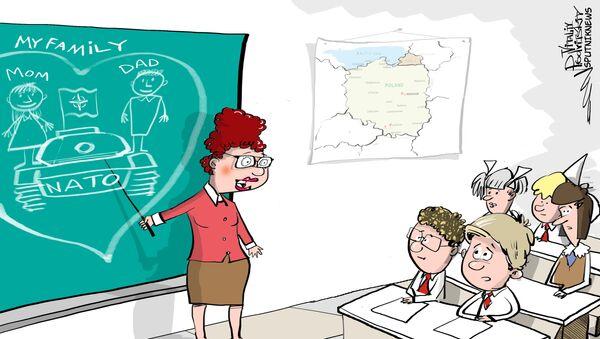 Program edukacyjny dla polskich szkół - czym jest NATO? - Sputnik Polska