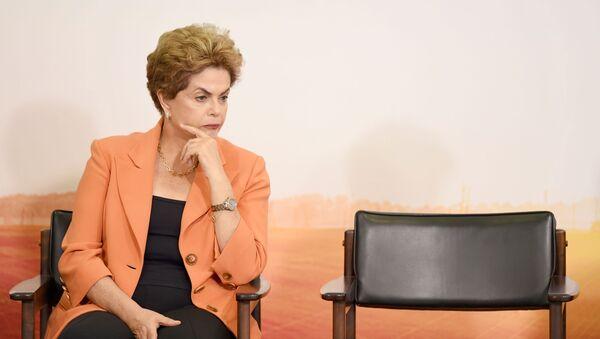 Dilma Rousseff - Sputnik Polska