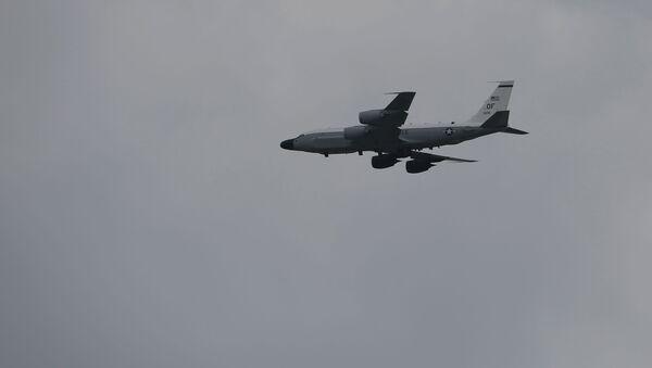 Amerykański samolot zwiadowczy RC-135S - Sputnik Polska