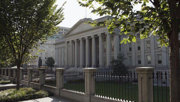 Budynek MInisterstwa Finansów USA w Waszyngtonie - Sputnik Polska