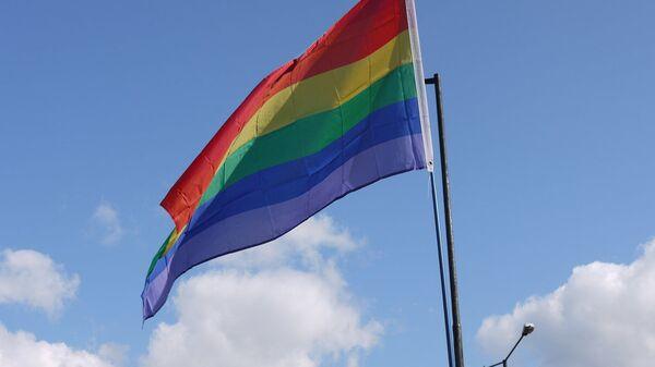 Flaga LGBT - Sputnik Polska