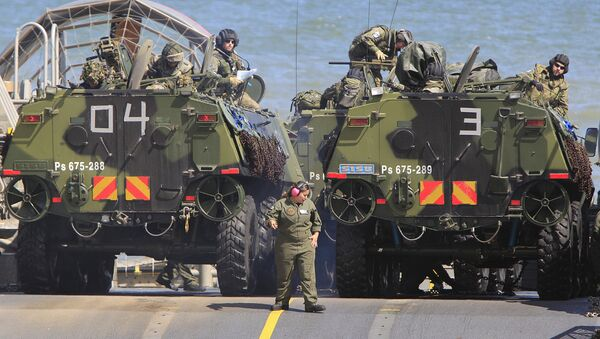 Na oficjalnej stronie projektu NATO Anakonda-16 w Polsce pojawił się komunikat prasowy o tragicznym wypadku, w wyniku którego zmarł cywil. - Sputnik Polska