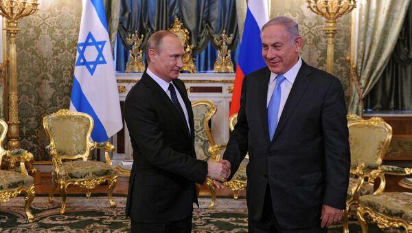 Prezydent Rosji Władimir Putin i premier Izraela Benjamin Netanjahu w czasie spotkania w Kremlu - Sputnik Polska