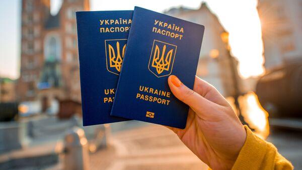 Paszport obywatela Ukrainy - Sputnik Polska