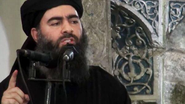 Abu Bakr al-Baghdadi - Sputnik Polska