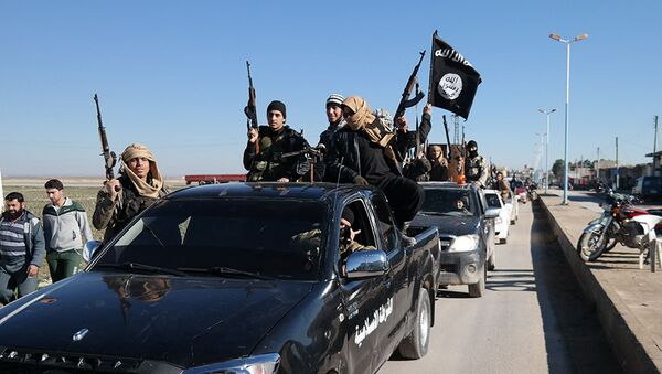 Bojownicy Państwa Islamskiego w Syrii - Sputnik Polska