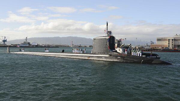 Amerykański okręt podwodny Mississippi - Sputnik Polska
