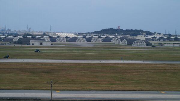 Amerykańska baza lotnicza na Okinawie - Sputnik Polska