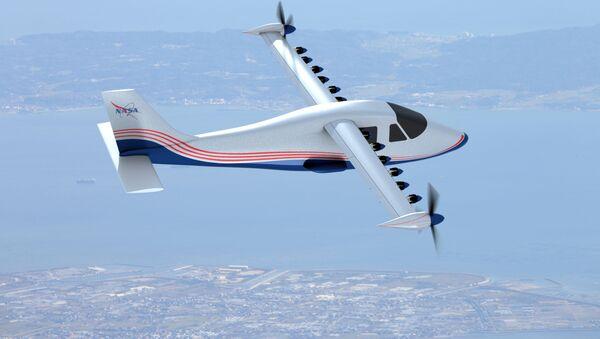 Prototyp elektrycznego samolotu X-57 Maxwell - Sputnik Polska