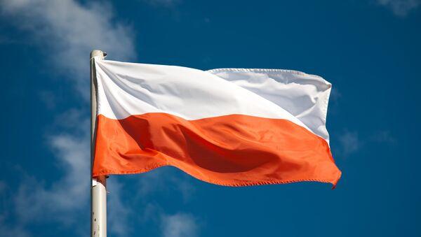 Flaga Polski - Sputnik Polska