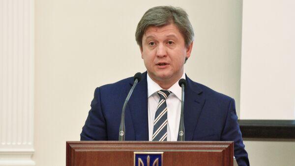 Szef Centrum Reformy Obronnej Ukrainy Aleksander Daniluk - Sputnik Polska