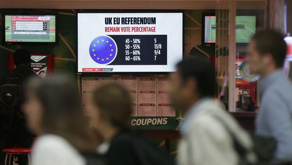 Referendum w sprawie członkostwa Wielkiej Brytanii w Unii Europejskiej - Sputnik Polska