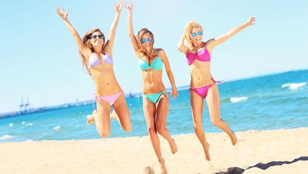 Dziewczyny w bikini - Sputnik Polska