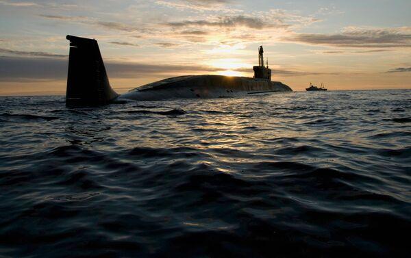 """Atomowy okręt podwodny projektu 955 Borei """"Jurij Dołgorukij"""" - Sputnik Polska"""