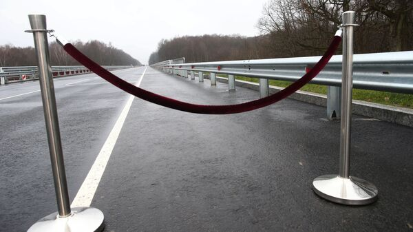 Otwarcie mostu na trasie Kaliningrad - Mamonowo - granica Polski - Sputnik Polska