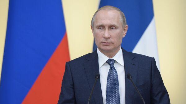 Prezydent Rosji Władimir Putin spotkał się z prezydentem Finlandii Sauli Väinämö Niinistö. - Sputnik Polska